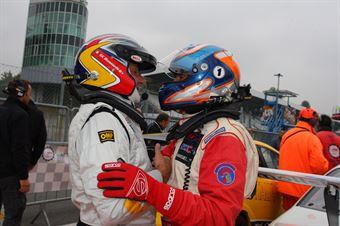 Giancarlo Busnelli (DTM Motorsport, Seat Leon Lon Run   B 2.0T #1), Matteo Ferraresi (W&D Racing Team, BMW M3 E46 B 3.6 #31), TCR ITALY TOURING CAR CHAMPIONSHIP