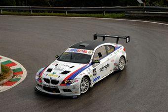 Abramo Antonicelli (ACN Forze di Polizia   BMW M3 E92 V8 # 46), CAMPIONATO ITALIANO VELOCITÀ MONTAGNA