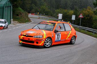 Giuseppe Aragona (Cubeda Corse   Peugeot 106 # 77), CAMPIONATO ITALIANO VELOCITÀ MONTAGNA
