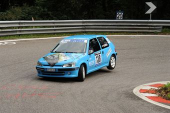 Nicoal Baldissera (Marca Rally Club   Peugeot 106 # 138), CAMPIONATO ITALIANO VELOCITÀ MONTAGNA