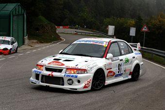 Rudy Bicciato (Meldola   Mitsubishi Lancer Evo # 91), CAMPIONATO ITALIANO VELOCITÀ MONTAGNA