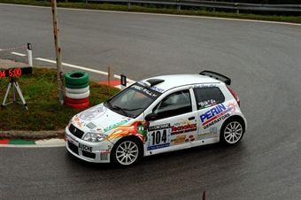 Brik (Vimotorsport   Fiat Punto Super 1600 # 104), CAMPIONATO ITALIANO VELOCITÀ MONTAGNA