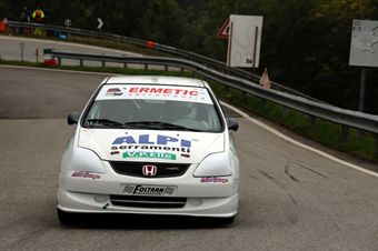 Gino Buiatti (Friuli 1956   Honda Civic # 124), CAMPIONATO ITALIANO VELOCITÀ MONTAGNA