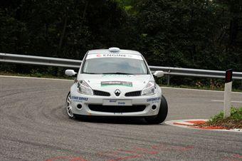 Ivano Canedese (Motor Group   Renault New Clio # 96), CAMPIONATO ITALIANO VELOCITÀ MONTAGNA