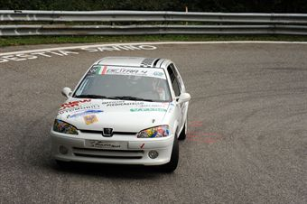 Stefano Ceolan (Destra 4   Peugeot 106 S16 # 136), CAMPIONATO ITALIANO VELOCITÀ MONTAGNA