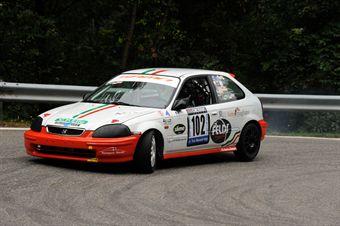 Paolo Cicalese (Honda Civic EK4 # 102), CAMPIONATO ITALIANO VELOCITÀ MONTAGNA