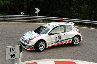 Alberto Cioffi (Peugeot 206 Super 1600 # 109), CAMPIONATO ITALIANO VELOCITÀ MONTAGNA