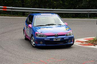 Matteo Conz (Peugeot 106 Rally # 133), CAMPIONATO ITALIANO VELOCITÀ MONTAGNA