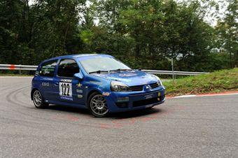 Gianantonio Corso (Antares Motorsport   Renault Clio RS # 122), CAMPIONATO ITALIANO VELOCITÀ MONTAGNA