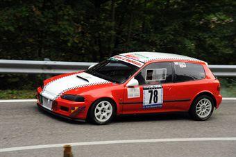 Stefano Degan (Halley Racing Team   Honda Civic # 78), CAMPIONATO ITALIANO VELOCITÀ MONTAGNA