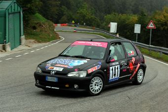 Elisa finotti (Peugeot 106 Rally # 141), CAMPIONATO ITALIANO VELOCITÀ MONTAGNA