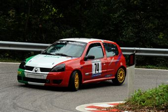 Christian Fracassi (Renault Clio RS Cup # 74), CAMPIONATO ITALIANO VELOCITÀ MONTAGNA
