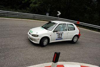 Luca Garaboni (Peugeot 106 # 132), CAMPIONATO ITALIANO VELOCITÀ MONTAGNA