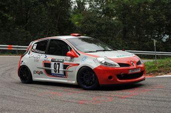 Serafino Ghizzoni (Renault New Clio # 97), CAMPIONATO ITALIANO VELOCITÀ MONTAGNA