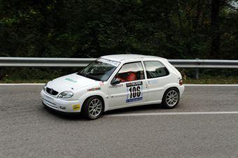 Paolo Gilli (Destra 4   Citroen Saxo # 106), CAMPIONATO ITALIANO VELOCITÀ MONTAGNA