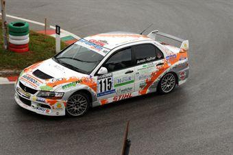 Armin Hafner (Meldola   Mitsubishi Lancer Evo # 115), CAMPIONATO ITALIANO VELOCITÀ MONTAGNA