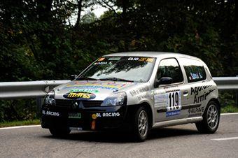 Lino Lena (BL Racing   Renault Clio RS # 119), CAMPIONATO ITALIANO VELOCITÀ MONTAGNA