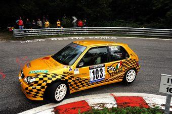 Michele Mancin (Mach 3 Sport   Citroen Saxo VTS 16V # 103), CAMPIONATO ITALIANO VELOCITÀ MONTAGNA