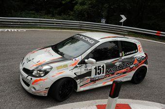 Oronzo Montanaro (Fasano Corse  Renault New Clio # 151), CAMPIONATO ITALIANO VELOCITÀ MONTAGNA