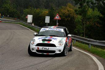Nicola Novaglio (Mini Cooper S # 146), CAMPIONATO ITALIANO VELOCITÀ MONTAGNA