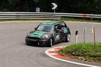 Ivan Pezzolla (Fasano Corse   Mini Cooper S # 145), CAMPIONATO ITALIANO VELOCITÀ MONTAGNA