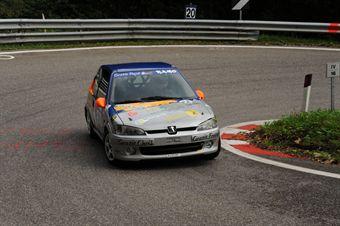 Patrik Ramorino (ER Motorsport   Peugeot 106 Rally # 144), CAMPIONATO ITALIANO VELOCITÀ MONTAGNA