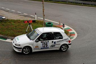 Giovanni Regis (Vimotorsport   Peugeot 106 Rally # 126), CAMPIONATO ITALIANO VELOCITÀ MONTAGNA