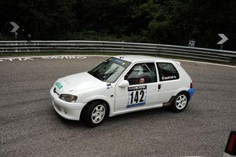 Nicoal Sartor (BL Racing   Peugeot 106 S16 # 142), CAMPIONATO ITALIANO VELOCITÀ MONTAGNA