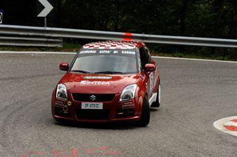 Stefano Silvestrelli (Suzuki Swift # 156), CAMPIONATO ITALIANO VELOCITÀ MONTAGNA