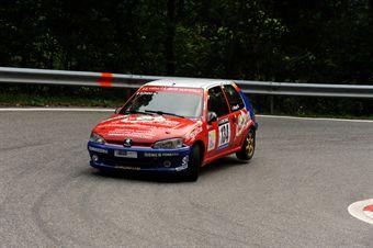 Matteo Slongo (BL Racing   Peugeot 106 S 16 # 134), CAMPIONATO ITALIANO VELOCITÀ MONTAGNA