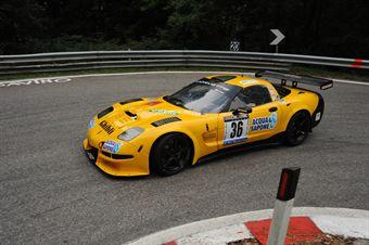 Giuliano Tavani (Chevrolet Corvette # 36), CAMPIONATO ITALIANO VELOCITÀ MONTAGNA