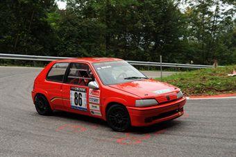 Raffaele terlizzi (BL Racing  Peugeot 106 Rally # 86), CAMPIONATO ITALIANO VELOCITÀ MONTAGNA