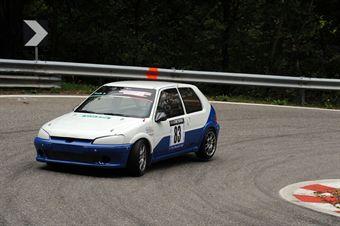 Domenico Tinella (Peugeot 106 # 83), CAMPIONATO ITALIANO VELOCITÀ MONTAGNA