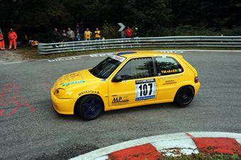 Massimo Tirabassi (Citroen Saxo VTS 16V # 107), CAMPIONATO ITALIANO VELOCITÀ MONTAGNA