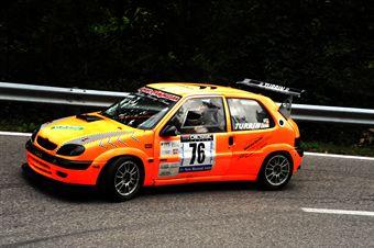 Tiziano Turrin (Halley Racing Team   Citroen Saxo # 76), CAMPIONATO ITALIANO VELOCITÀ MONTAGNA