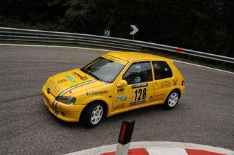 Fabrizio Vettorel (BL Racing   Peugeot 106 Rally # 132), CAMPIONATO ITALIANO VELOCITÀ MONTAGNA