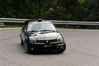 Flavio Vettoretto (Vimotorsport   Renault Clio # 125), CAMPIONATO ITALIANO VELOCITÀ MONTAGNA