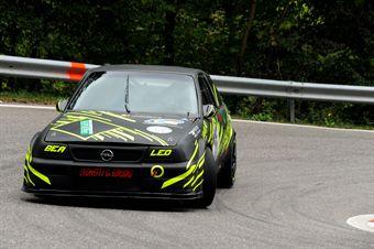 Alessio Vitali (Opel Astra CDI # 75), CAMPIONATO ITALIANO VELOCITÀ MONTAGNA