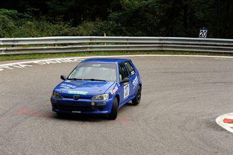 Gianluca Zampieri (BL Racing   Peugeot 106 Rally # 137), CAMPIONATO ITALIANO VELOCITÀ MONTAGNA