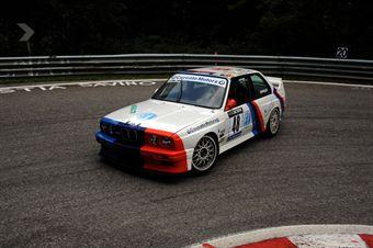Tobia Zarpellon (Team Bassano   BMW M3 # 48), CAMPIONATO ITALIANO VELOCITÀ MONTAGNA