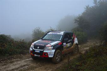 Mirko Emanuele, Giorgio Emanuele (Suzuki New Grand Vitara DDIS T2 22 N #25), CAMPIONATO ITALIANO CROSS COUNTRY