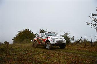 Tomasz Komormicki, Artur Kotodziej (Mitsubishi L 200 EVO T1 11 #22, G1 Racing), CAMPIONATO ITALIANO CROSS COUNTRY