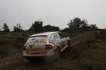 Maciej Stanco, Ernest Grorecki (Porsche Cayenne 4.8 T2 21 #23, G1 Racing), CAMPIONATO ITALIANO CROSS COUNTRY
