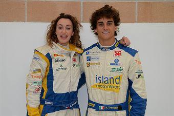 Aronne Travaglia, Martina Inama (Daihatsu Rocky 2,8 TH H4 #35, Islands Motosport), CAMPIONATO ITALIANO CROSS COUNTRY