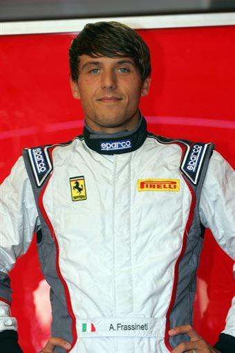 Alex Frassineti (Team Malucelli, Ferrari 458 Italia GT3 #23) , ITALIAN GRAN TURISMO CHAMPIONSHIP