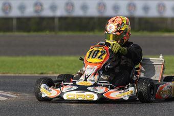 KZ2   Pierluigi Giglio (CRG Tm), CAMPIONATO ITALIANO ACI KARTING