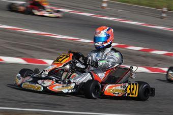 Prodriver Under   Mattia Lugli (CRG Tm), CAMPIONATO ITALIANO ACI KARTING