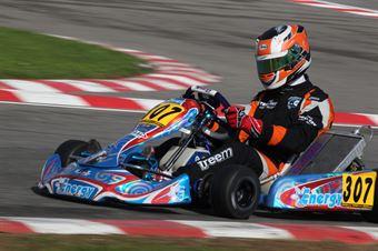 Prodriver Under   Davide Barchi (Energy Tm), CAMPIONATO ITALIANO ACI KARTING