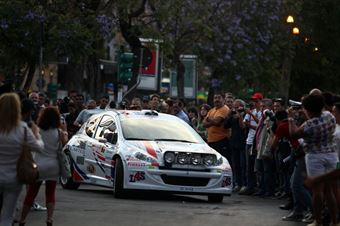 Alessandro Perico, Fabrizio Carrara (Peugeot 207 S2000 #9, PA Racing), CAMPIONATO ITALIANO RALLY