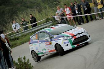 Jacopo Trevisani, Andrea Marchesini (Ford Fiesta R2B, #30 Gass Racing), CAMPIONATO ITALIANO RALLY